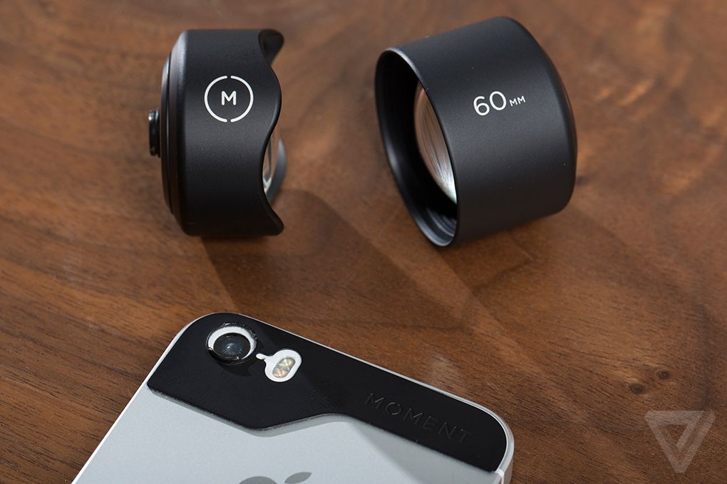 check out faf84 adc6d Moment's lenses add versatility to your iPhone camera, for a price ...