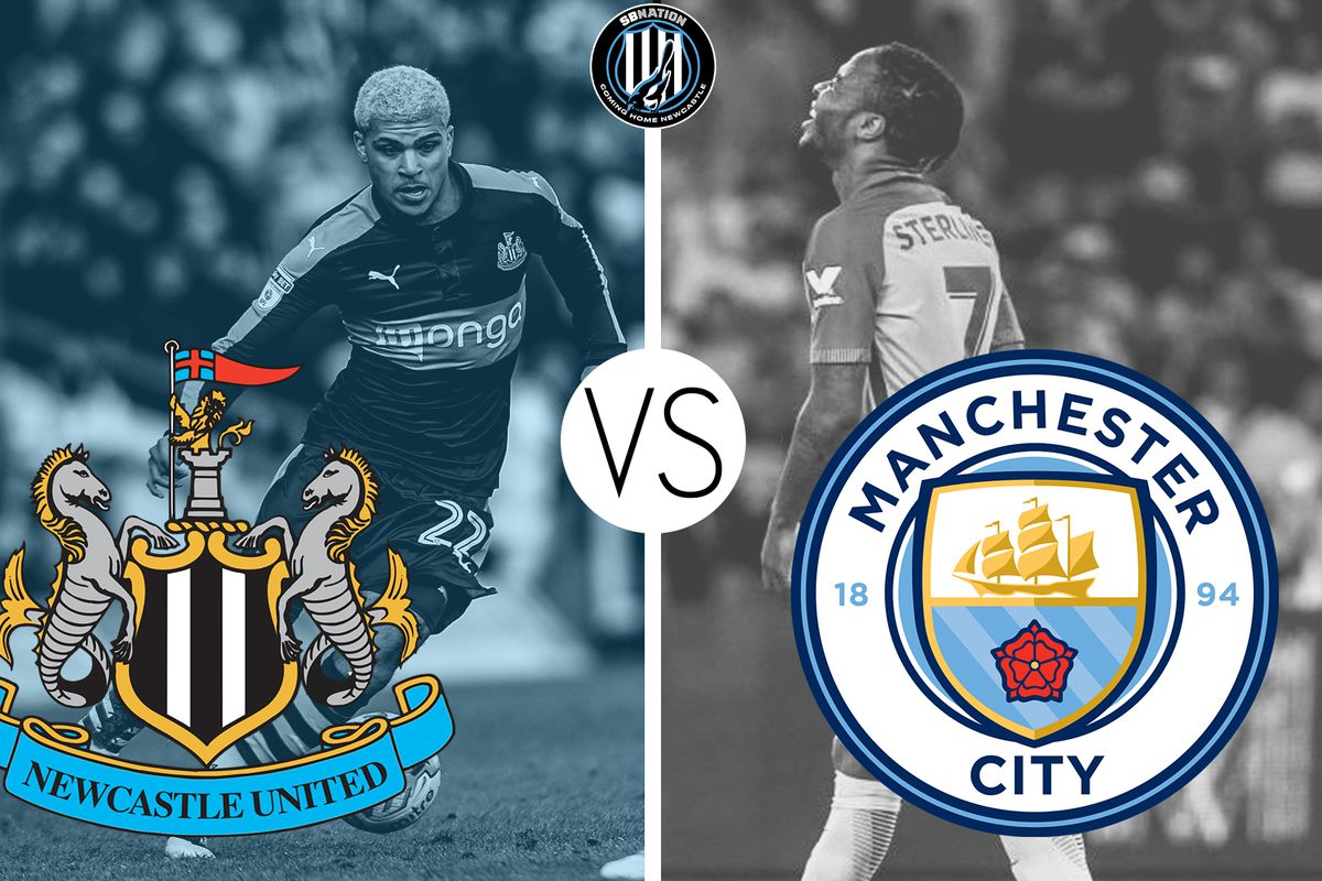 Image result for Manchester City vs Newcastle United pic