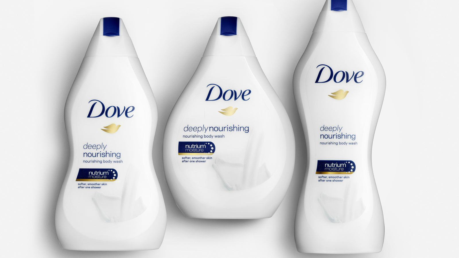 Dove Now Selling Body Wash in the Shape of Your Body Type