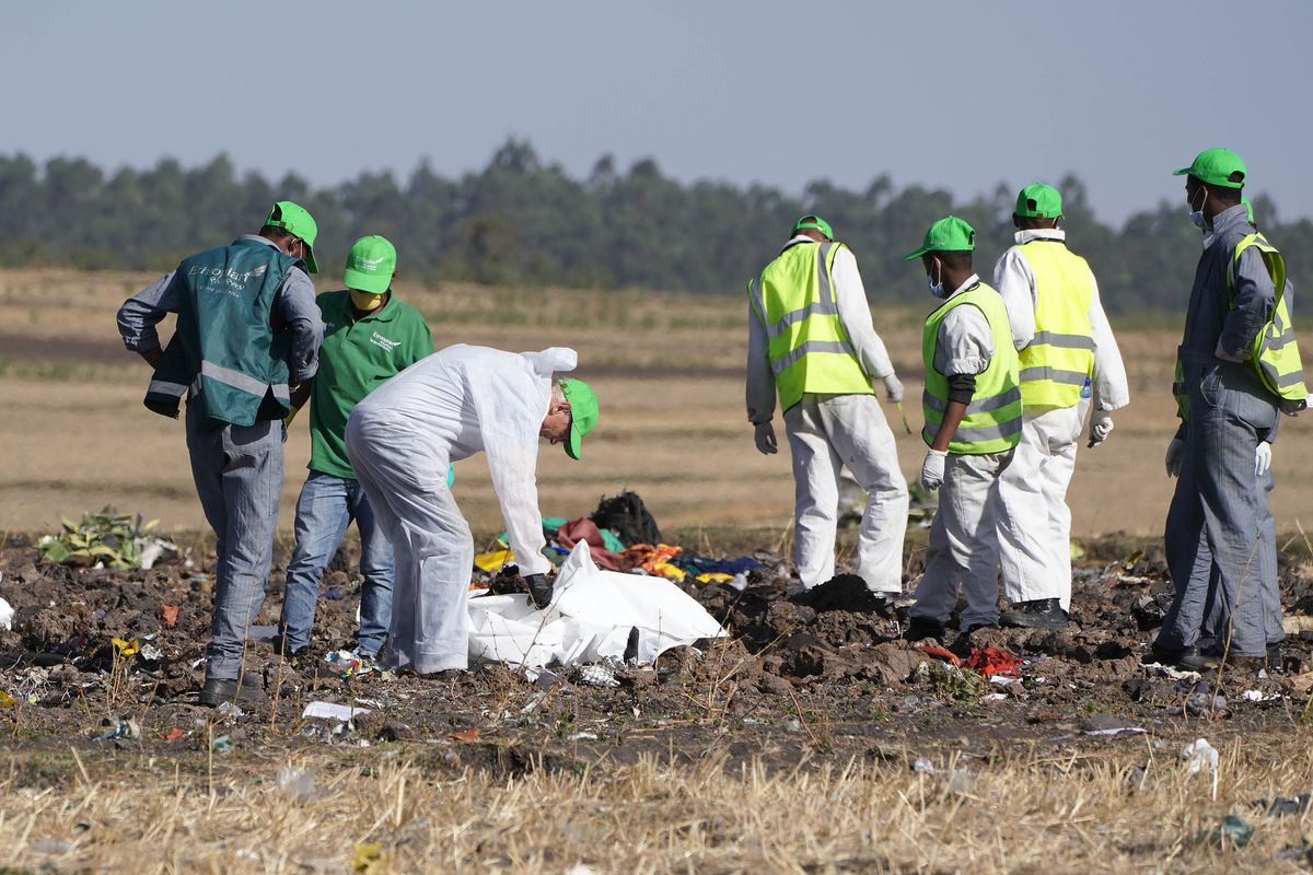Image result for boeing 737 max crash site