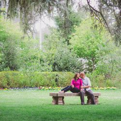 """""""I love shooting at <strong>Shakespeare Garden</strong> because it sets the tone for my couples. The garden is dreamy, serene, and bright. The place allows you to feel as though you are in a different country. It is a place where couples fall in love."""" -P"""