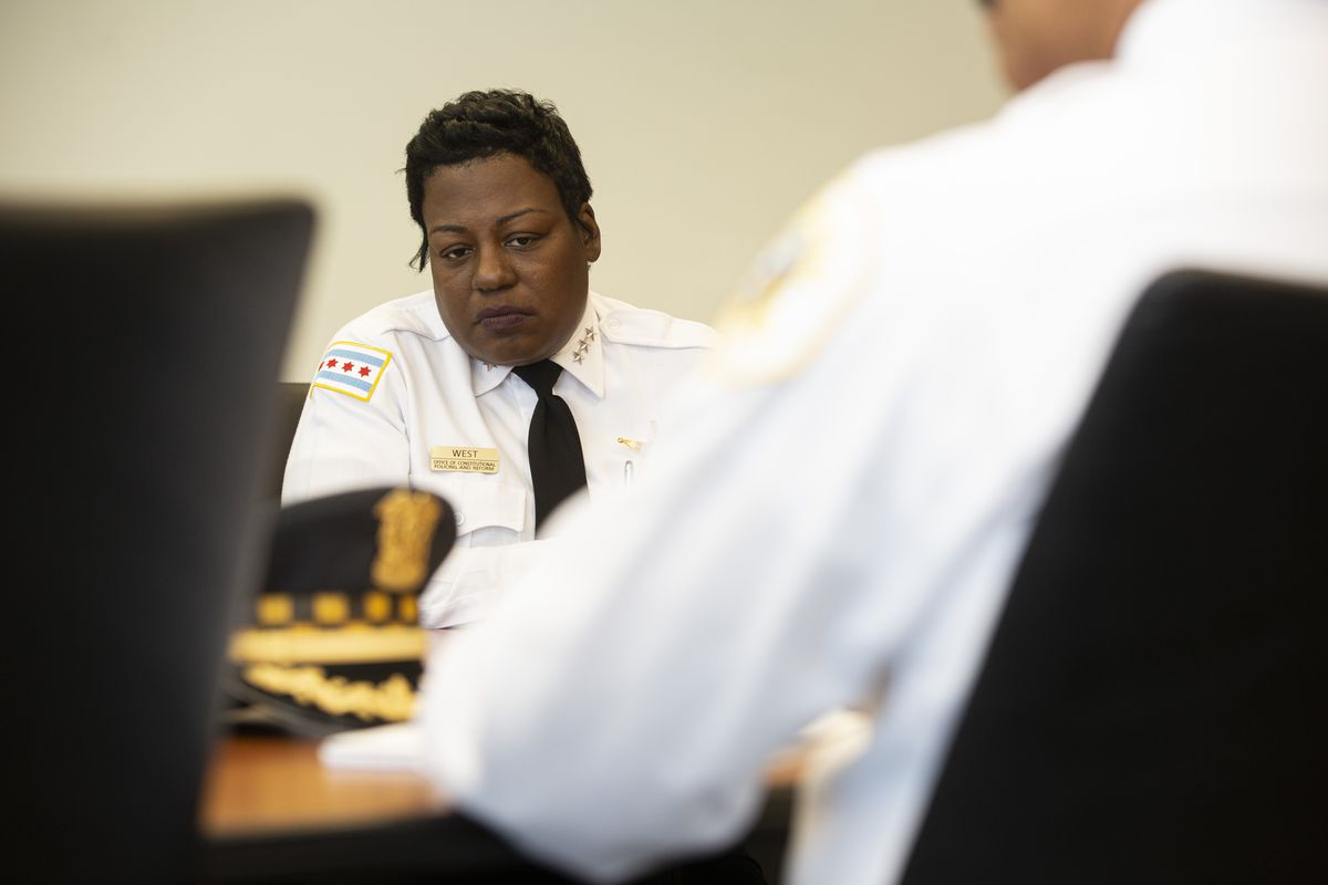 Barbara West, the Chicago Police Department's Deputy Superintendent of Constitutional Policing and Reform, made history with her promotion in January. Formerly chief of the Bureau of Organizational Development, West became the highest-ranking African-American female officer ever to serve in the 185-year-old department.