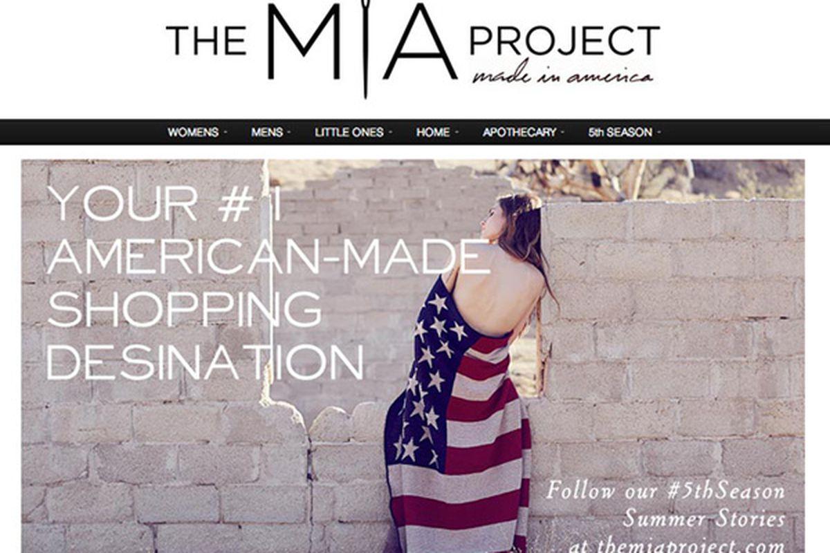 "Screenshot <a href=""http://themiaproject.com/the-mia-shop/"">via</a>"