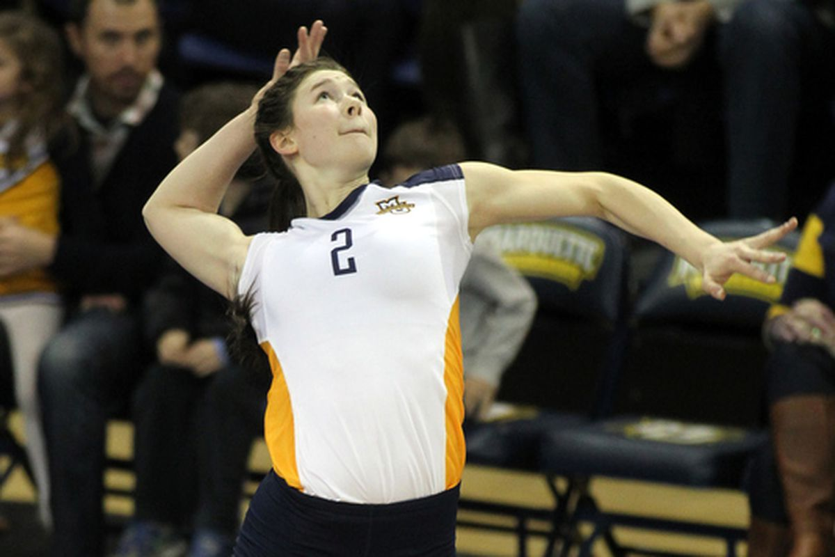 Autumn Bailey's pretty good at volleyball, y'all.