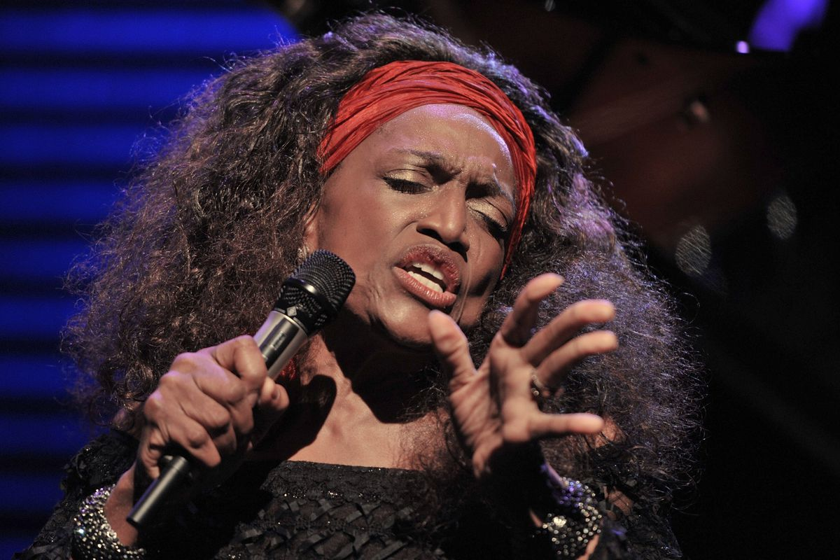 This AP file photo shows American opera singer Jessye Norman performing on the Stravinski Hall stage at the 44th Montreux Jazz Festival, in Montreux, Switzerland, in 2010.