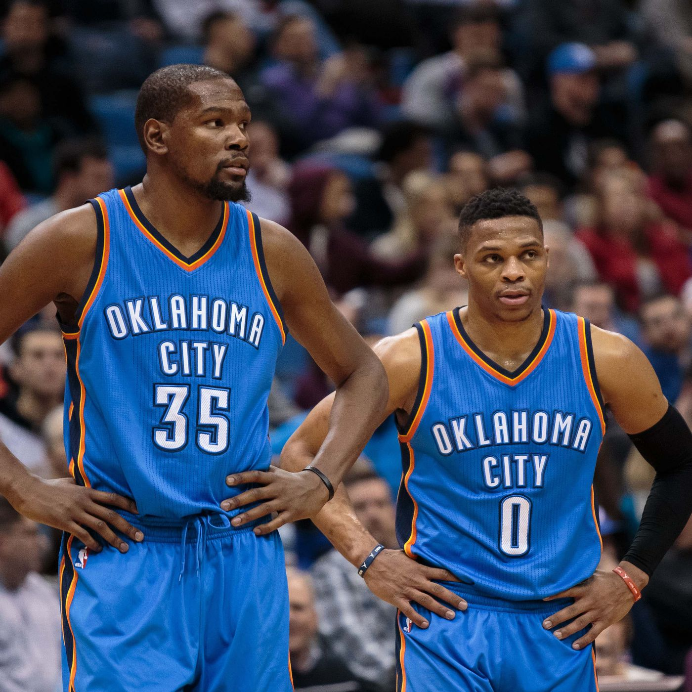 8152eb46757 Russell Westbrook replies to Kevin Durant comments for the last time    That s cute