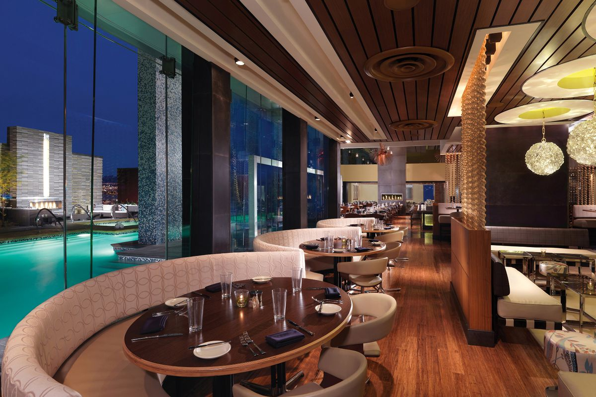 The Former Simon Restaurant Lounge Palms