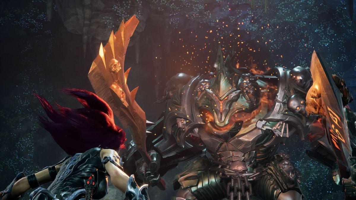 Darksiders 3 - Fury facing Wrath
