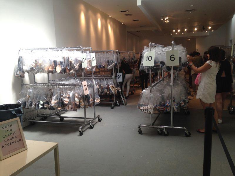 Sandals Dominate the Loeffler Randall Sample Sale - Racked NY