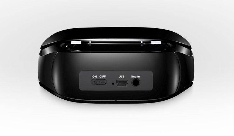 Logitech Mini Boombox Bluetooth Speaker Supports