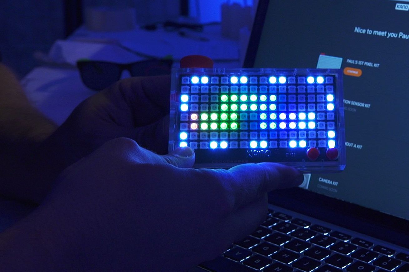 Kano's Pixel Kit is a fun way to learn how to code, but it needs to crash less