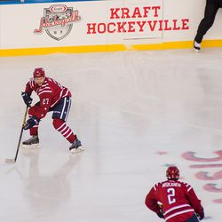 Alzner Plays Puck in Winter Classic