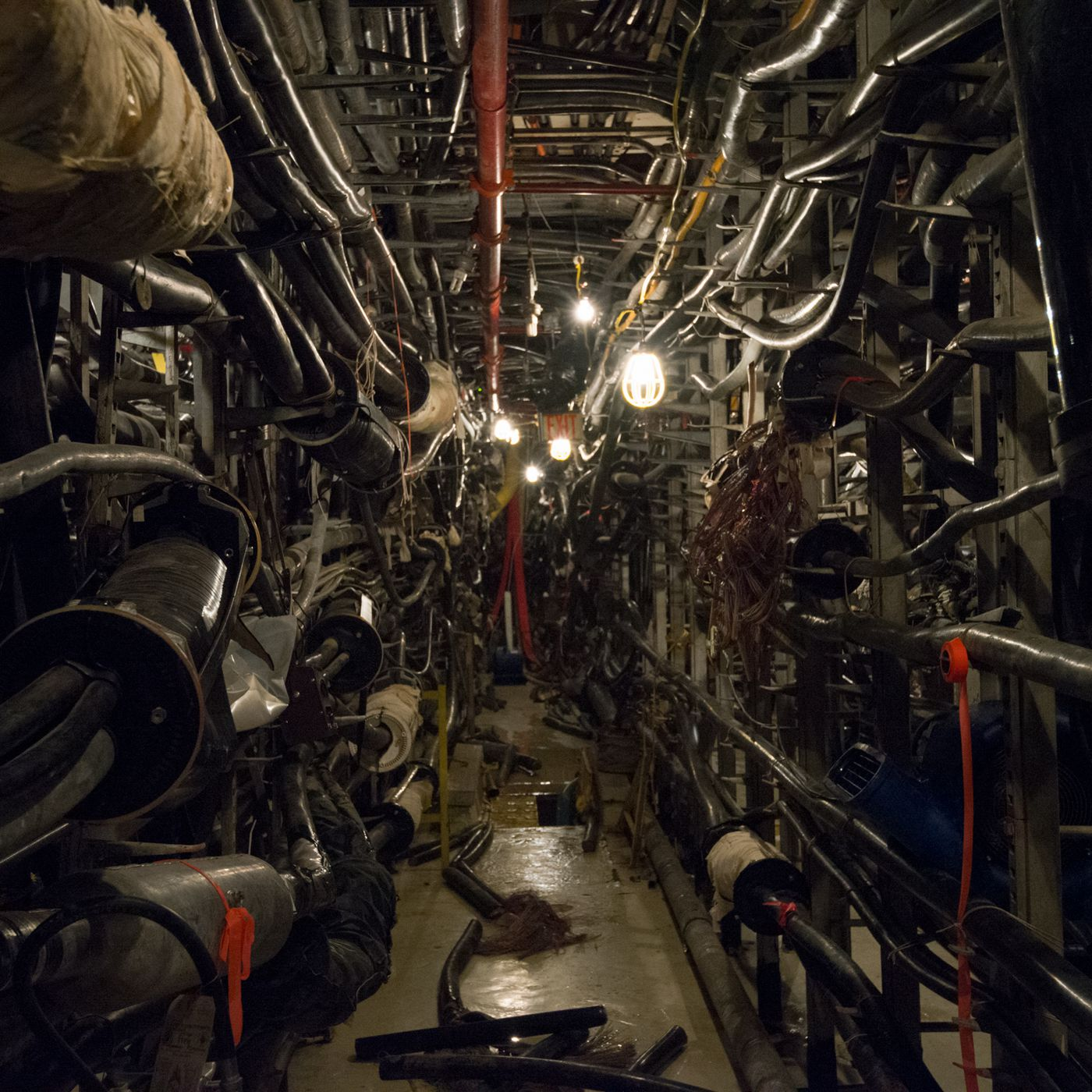 Into The Vault Operation To Rescue Manhattans Drowned Internet Wiring A Job Trailer Verge
