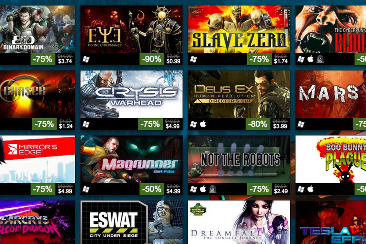 Steam Cyberpunk Sale
