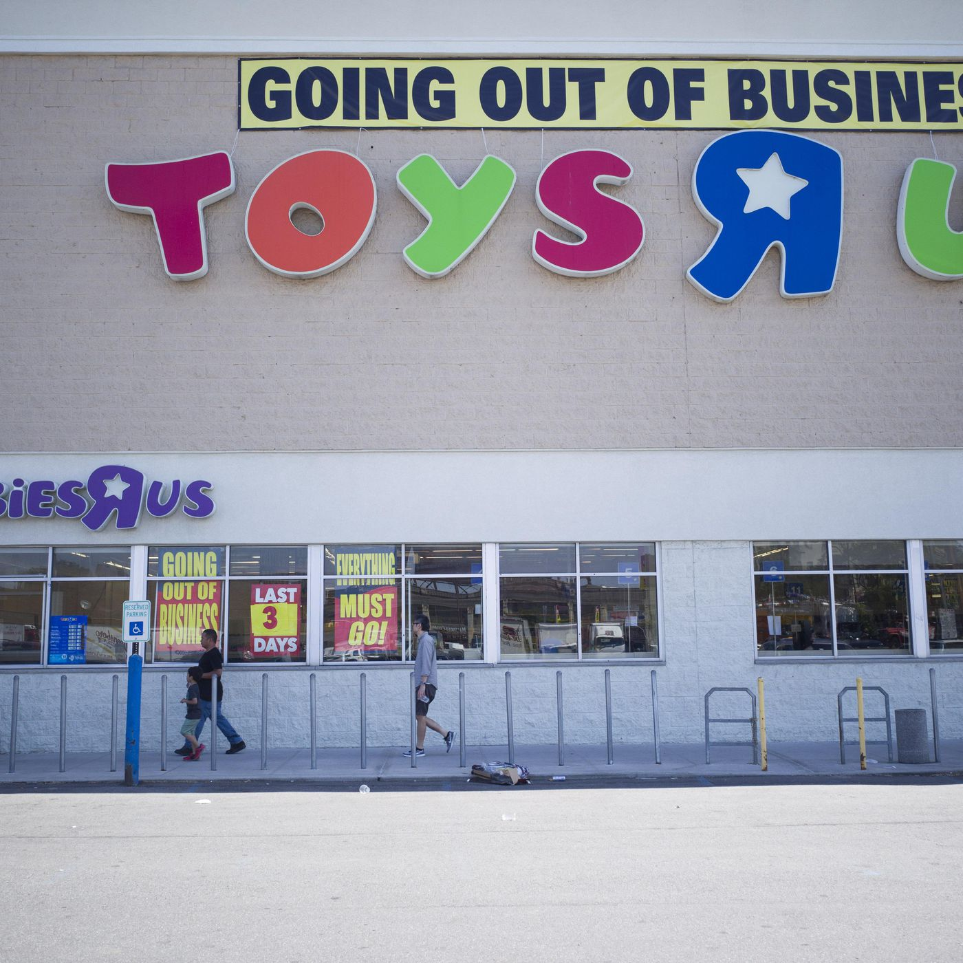 Toys R Us Declared Bankruptcy But