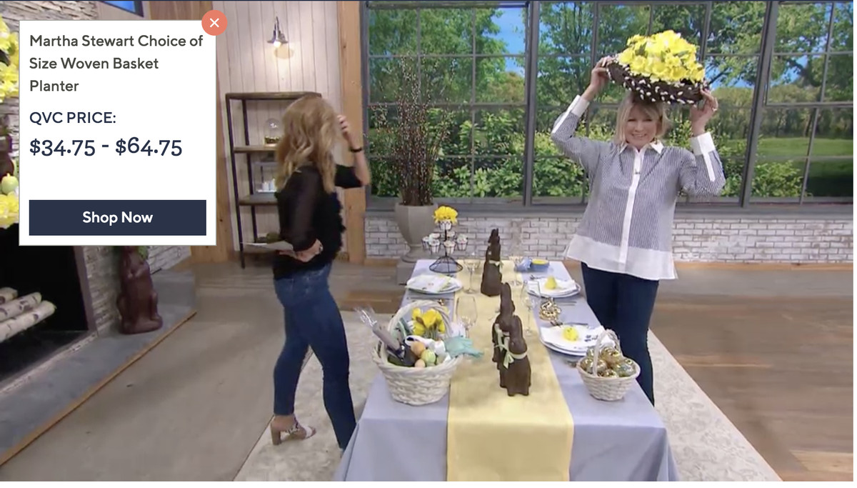 QVC, HSN, and at-home shopping shows still make a lot of