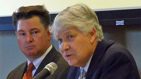Todd Snidow (left) and Penn Pfiffner