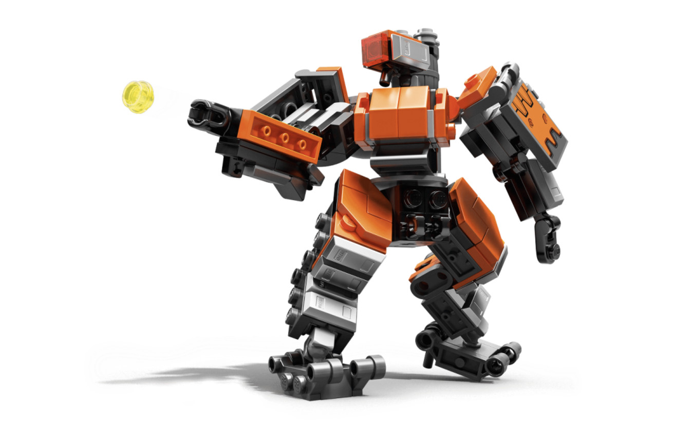 the first overwatch lego set is a blocky bastion