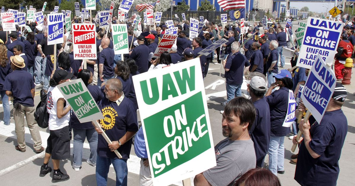 GM workers will go on strike, the latest stoppage in a global trend of large-scale labor action