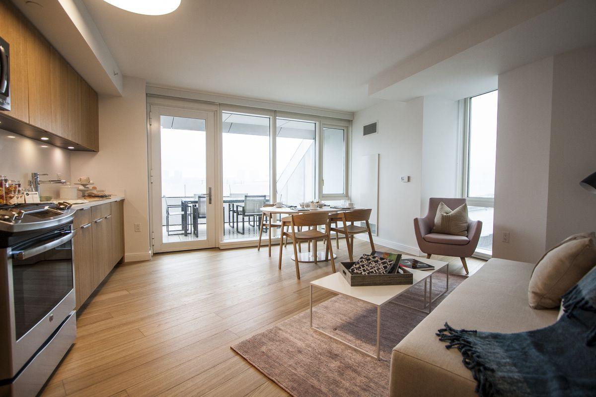 A model apartment in via. Will Femia.