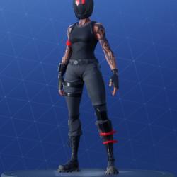 The Redline Skin, unlocked at level 23