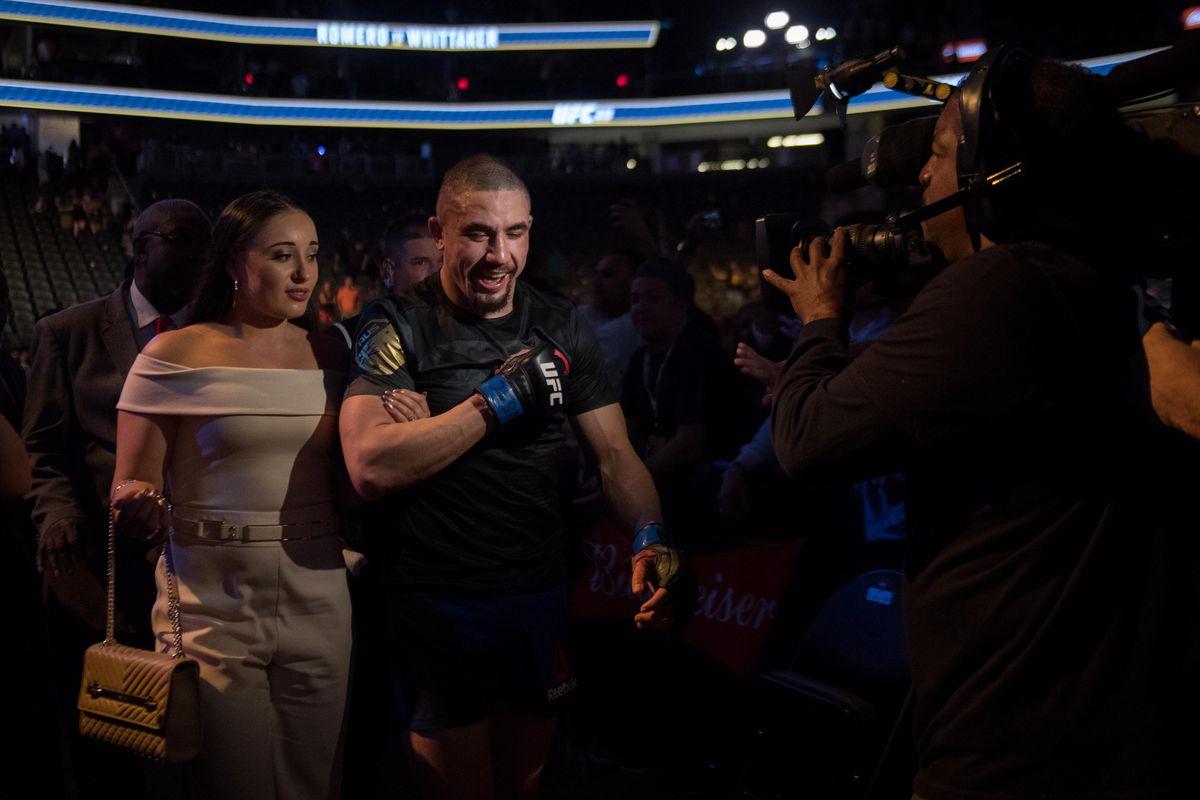 MMA: UFC 213-Romero vs Whittaker