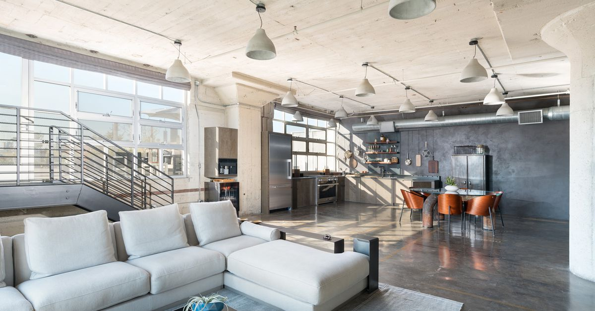fancy corner unit in arts district u2019s toy factory lofts asks  1 78m