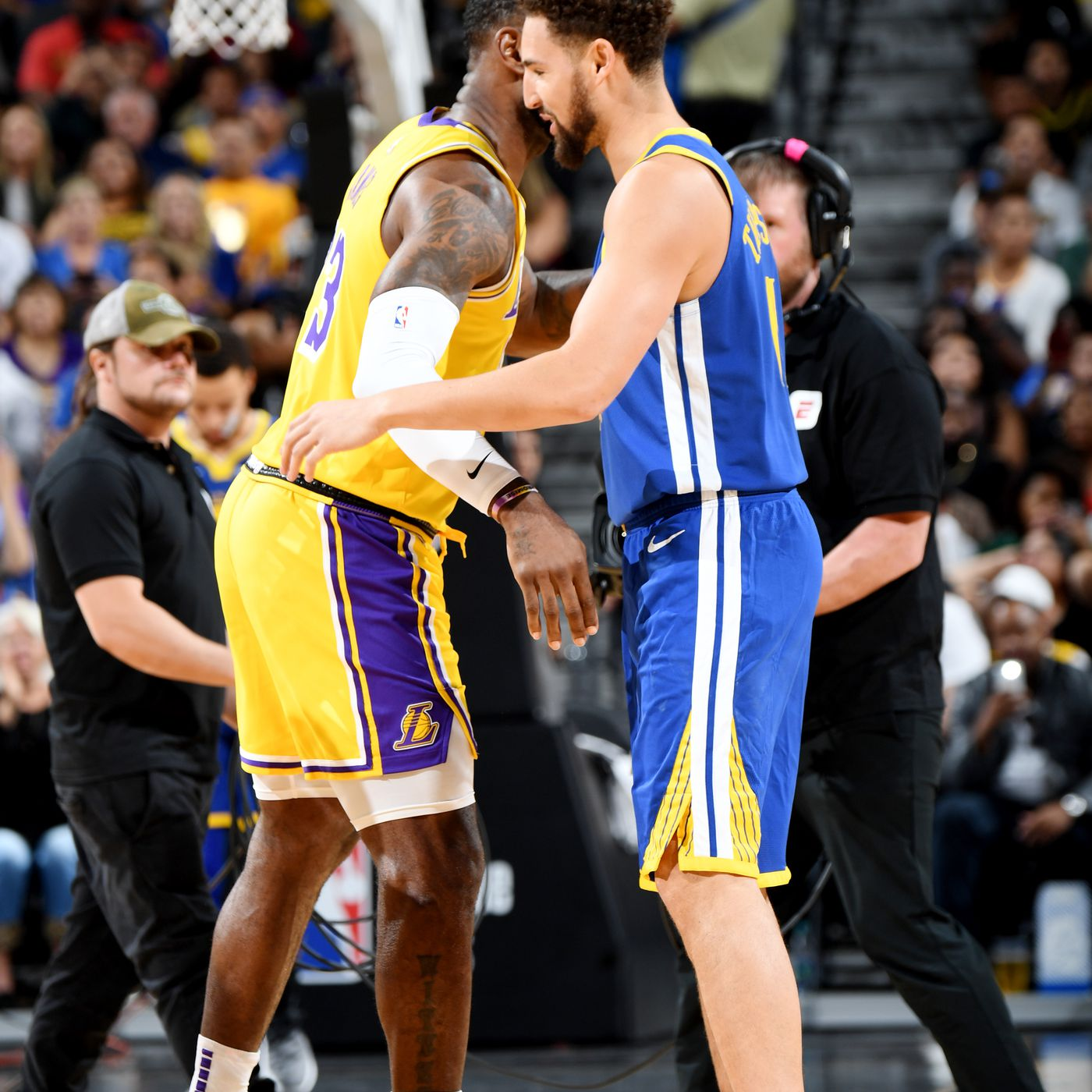Warriors Lakers 2021 Christmas