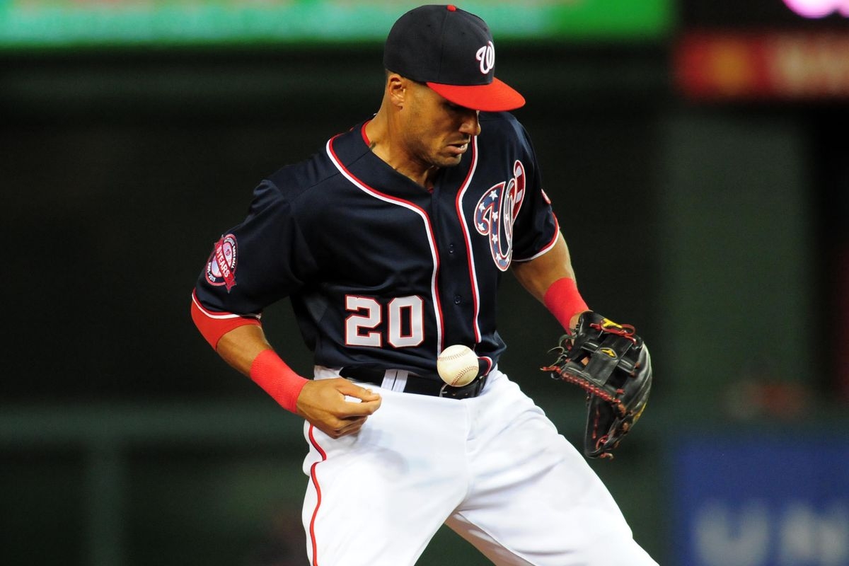 Watching Ian Desmond boot routine grounders has been an all too familiar site this April.  It's time for the Nats shortstop to put his mistakes behind him and move on to the next play.
