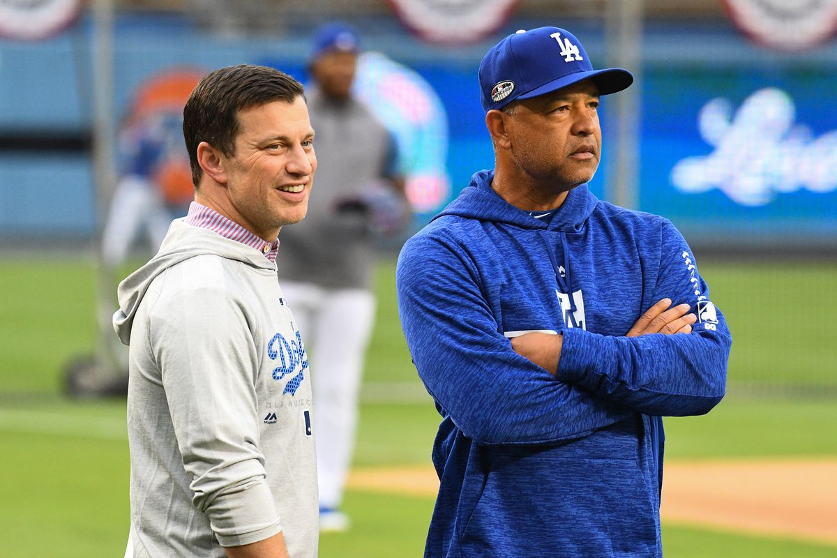 MLB: OCT 03 NLDS Workout Day - Braves at Dodgers
