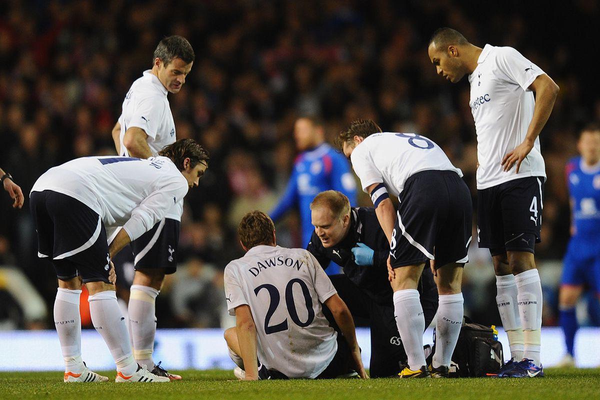 Dawson's injur looked bad as soon as it happened