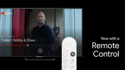 A screenshot showing the new remote control