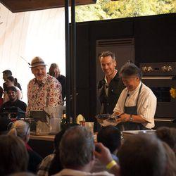 Art Smith and Takashi Yagihashi present with Adam Rapoport of Bon Appetit