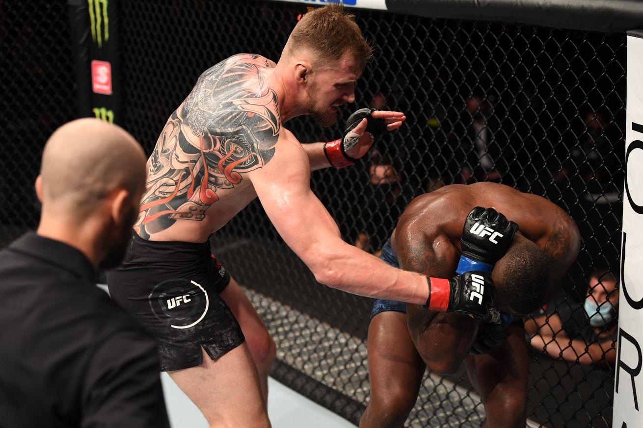 UFC 254: Volkov v Harris