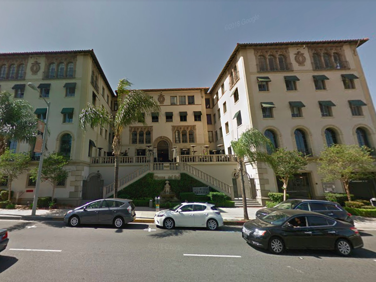 The Piazza del Sol at 8439 Sunset