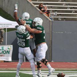 Celebrating said touchdown!<br>