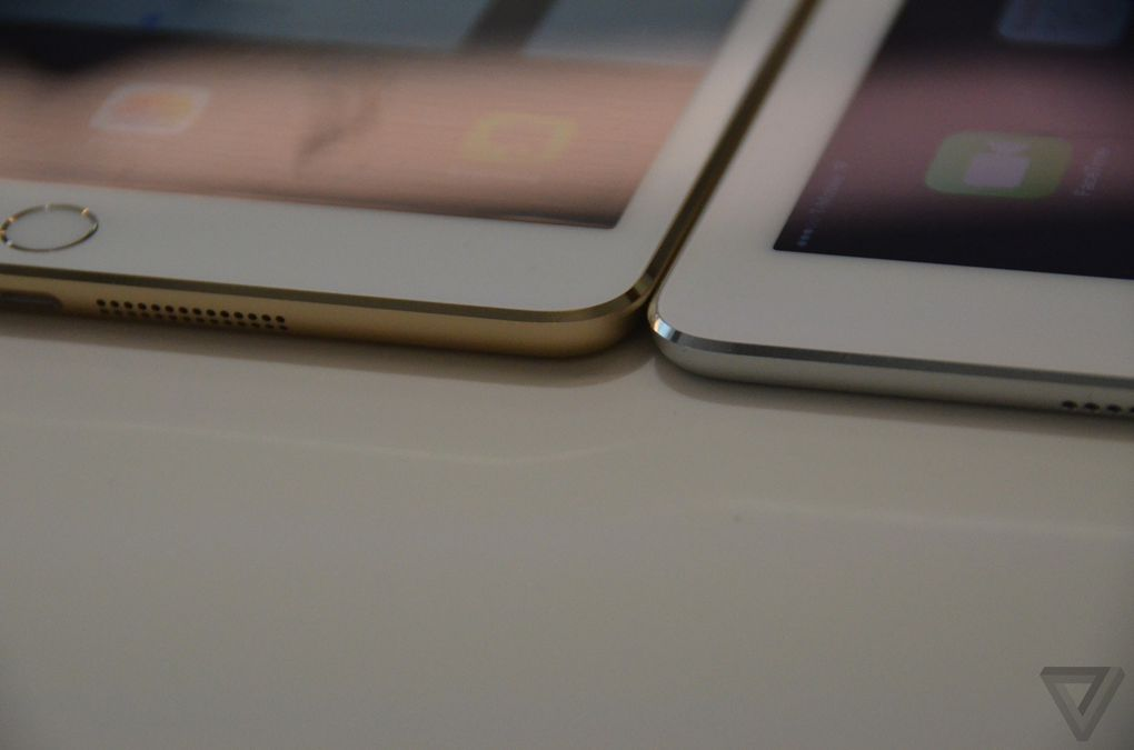 Ipad Air 2 Hands On The Same But Different The Verge