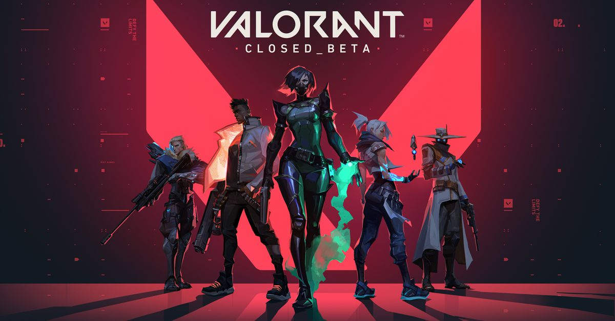 Riot's shooter Valorant goes into beta on April 7th