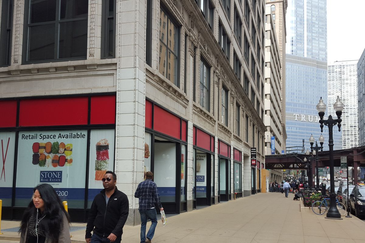 Site of The Halal Guys Loop location