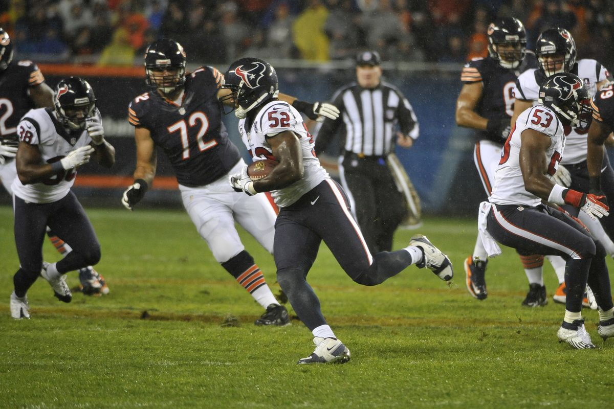 Jay Cutler wishes Dobbins had missed the Bears game last year.