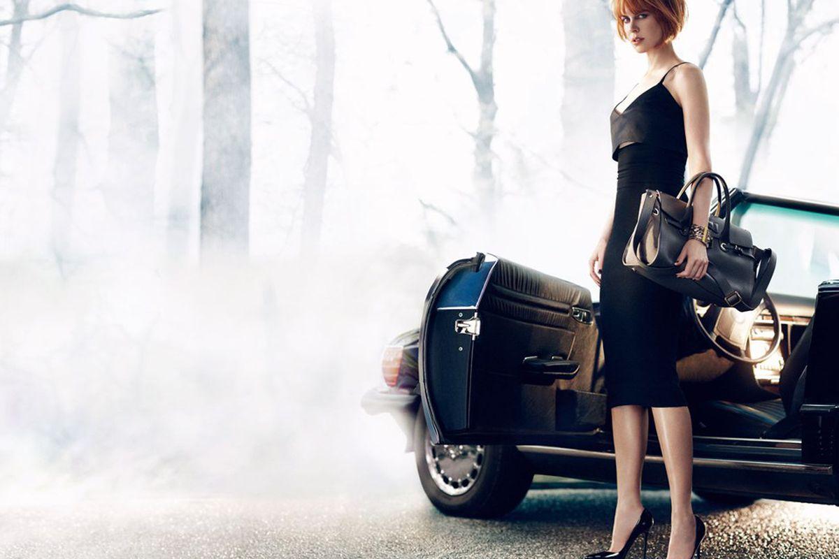 Nicole Kidman for Jimmy Choo via Vogue UK