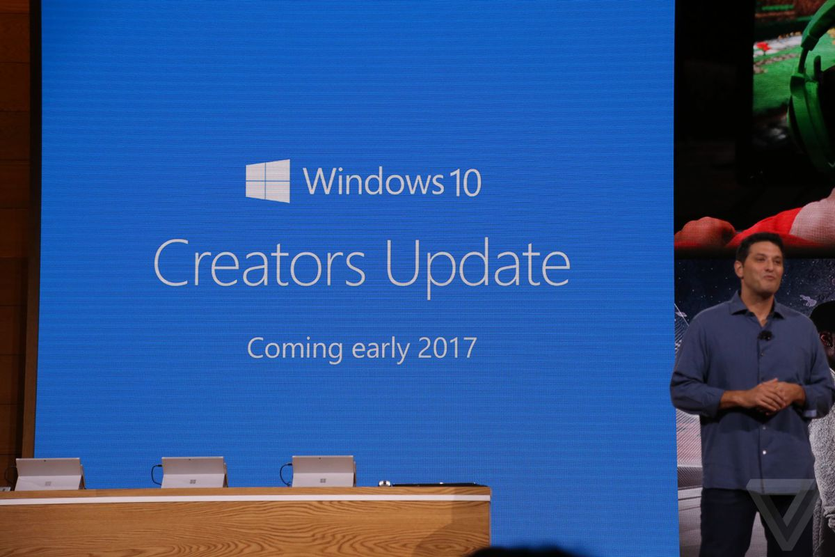 how to get the april creators update