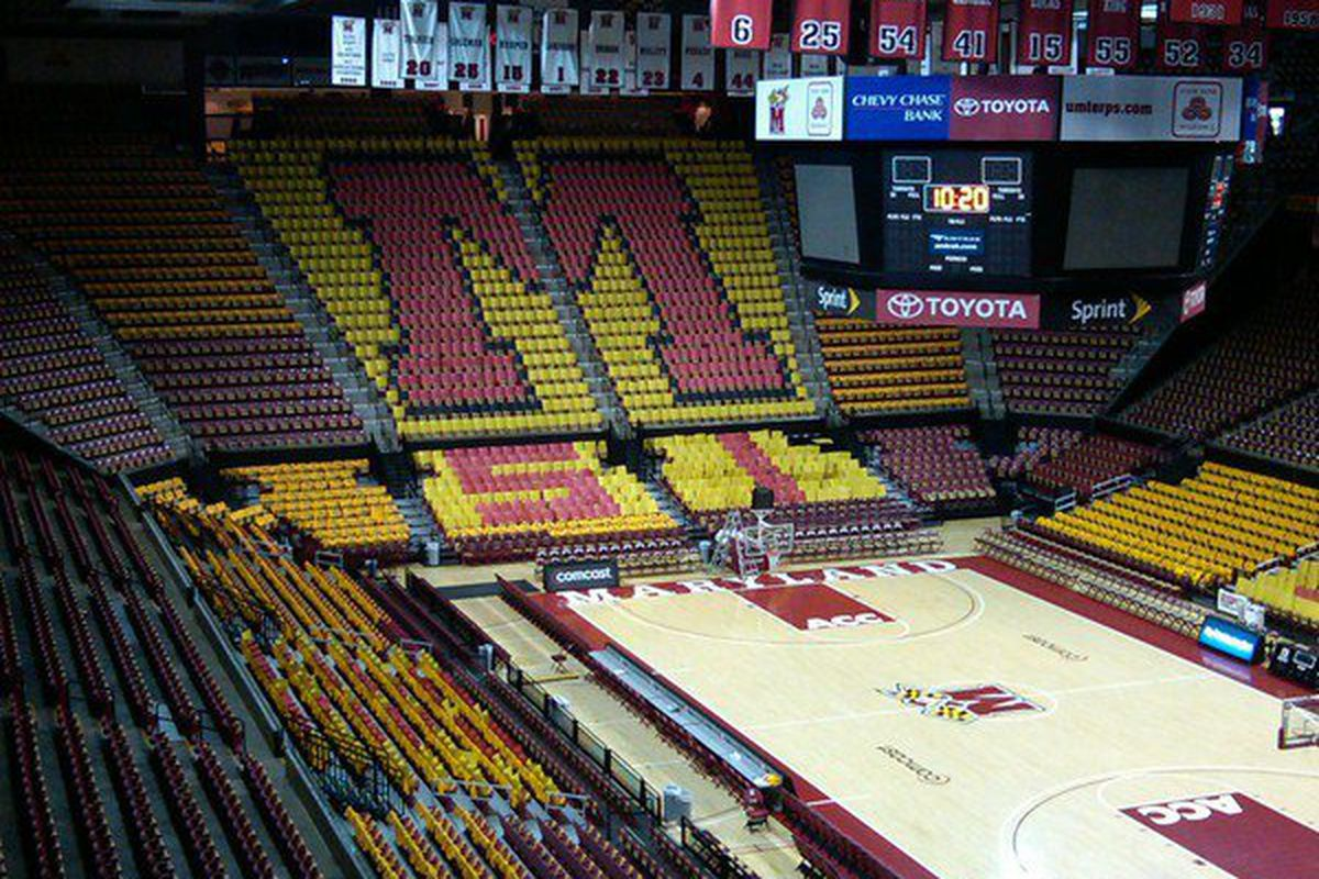 Dave White Chevy >> Maryland basketball: Comcast Center is now XFINITY Center - Testudo Times