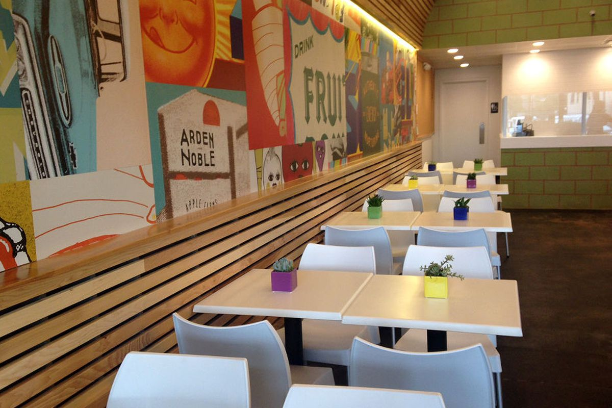 Inside DFW's first Daily Juice.