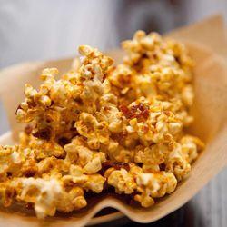 "<span class=""credit"">Bourbon bacon popcorn [Photo: <a href=""http://alexgarlandphotography.com/"">A. Garland</a>]</span>"
