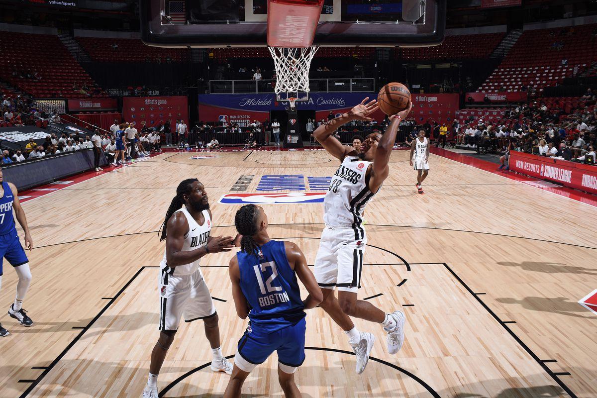 2021 Las Vegas Summer League - LA Clippers v Portland Trail Blazers