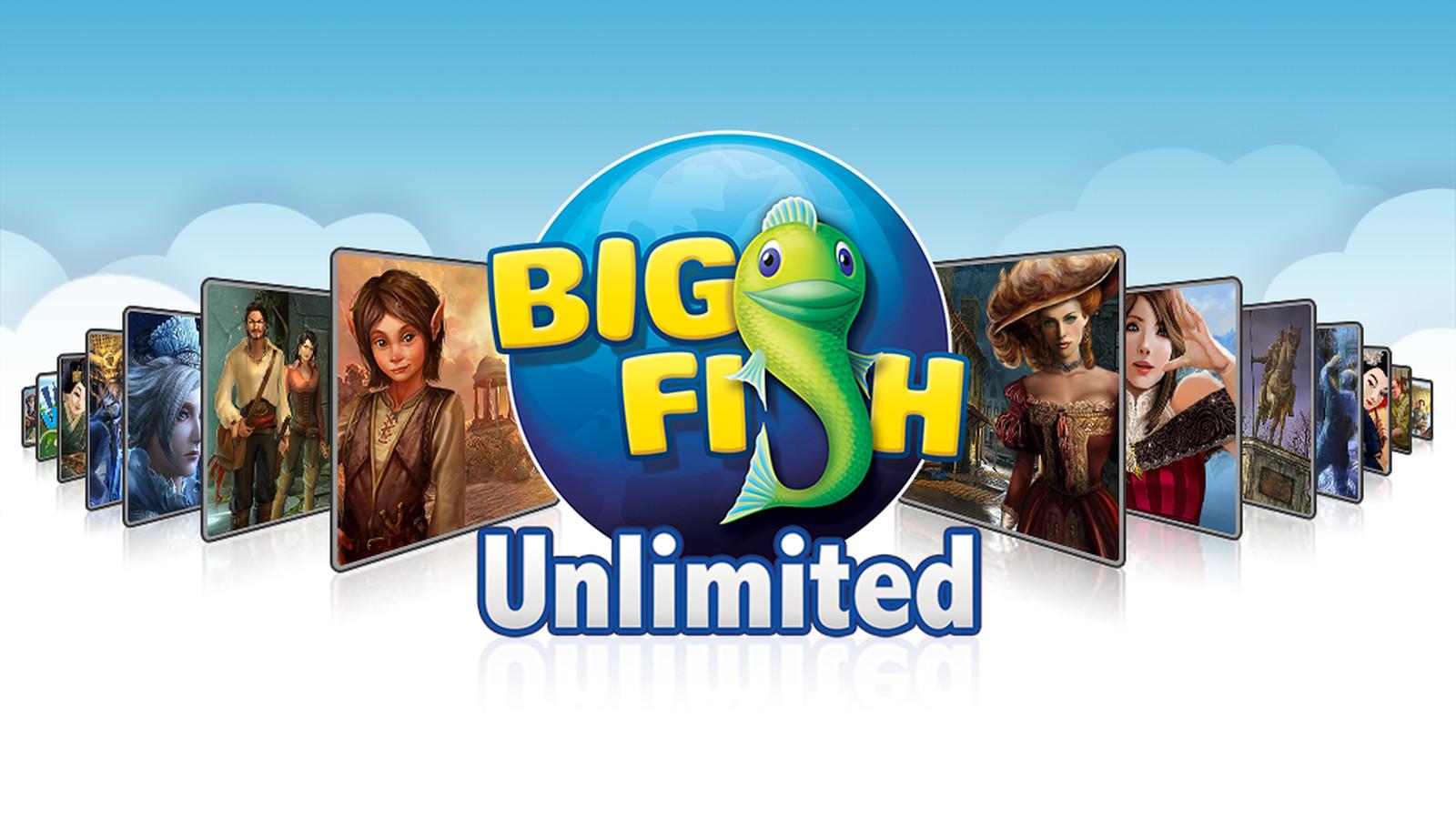 Big Fishing Games - Play Big Fish Games At Home!