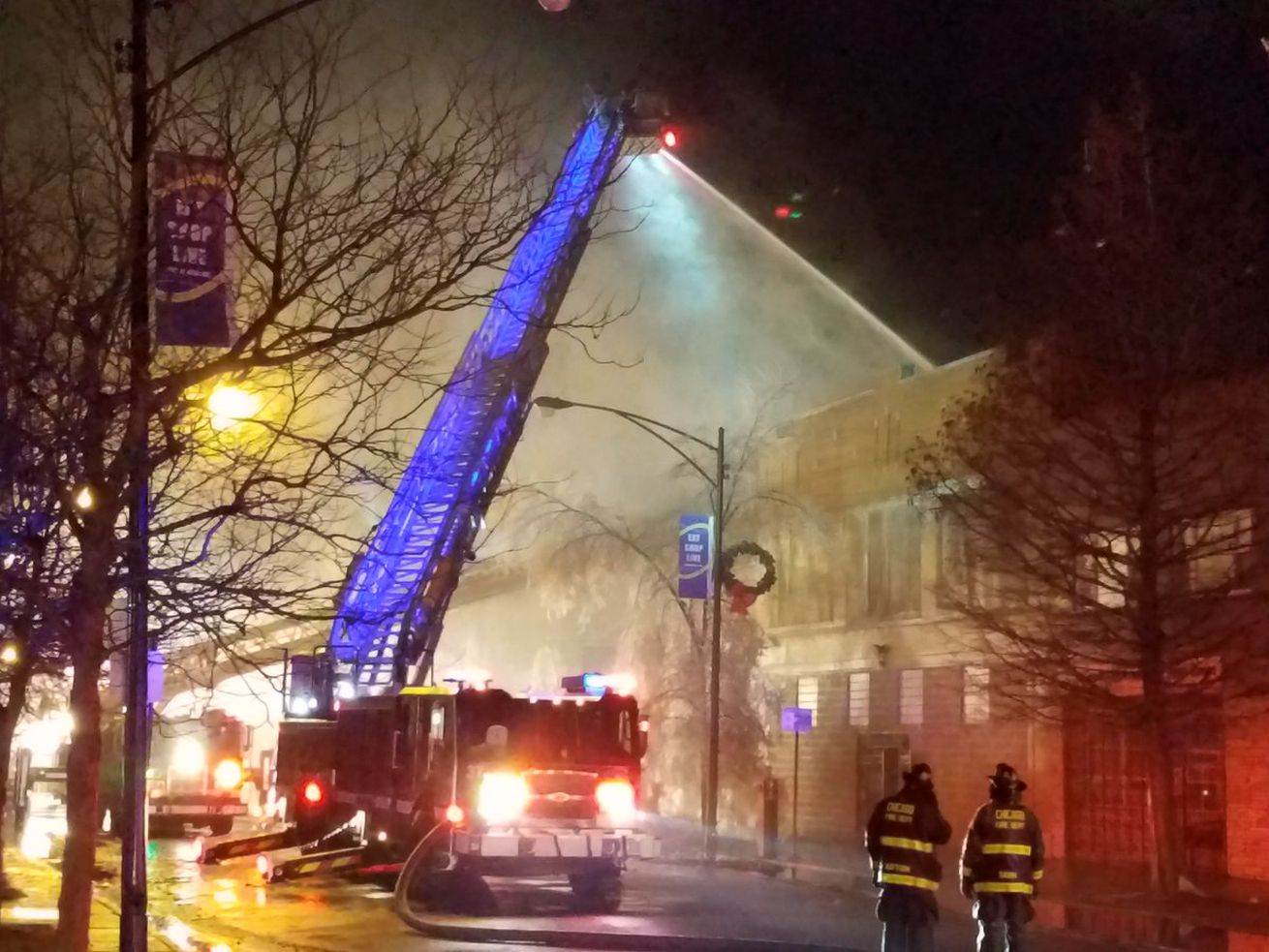 This fire destroyed Capri's Pizza of South Chicago
