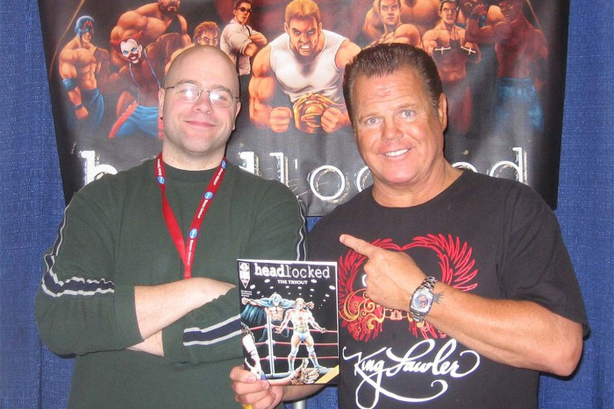Mike Kingston with Jerry Lawler