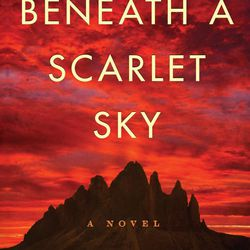 """The Persian Pickle Club recommended """"Beneath a Scarlet Sky"""" by Mark Sullivan."""